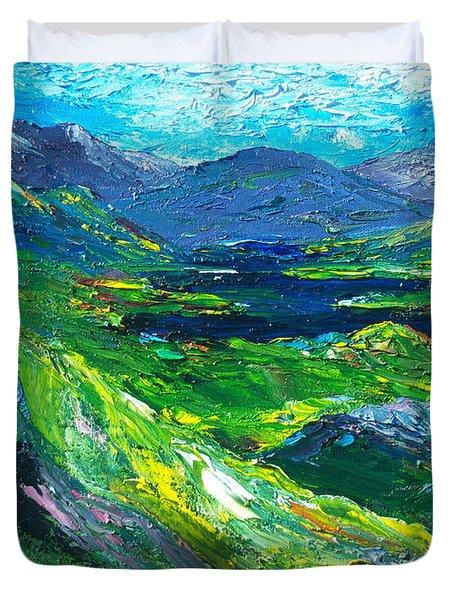 Killarney The Kingdom Of Kerry Duvet Cover