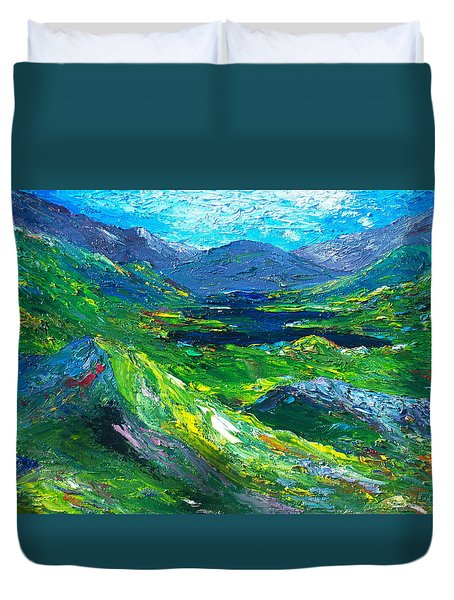 Killarney The Kingdom Of Kerry Duvet Cover