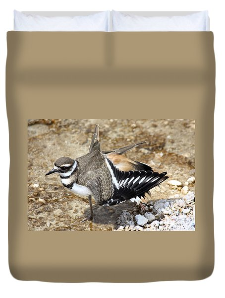 Killdeer Fakeout Duvet Cover