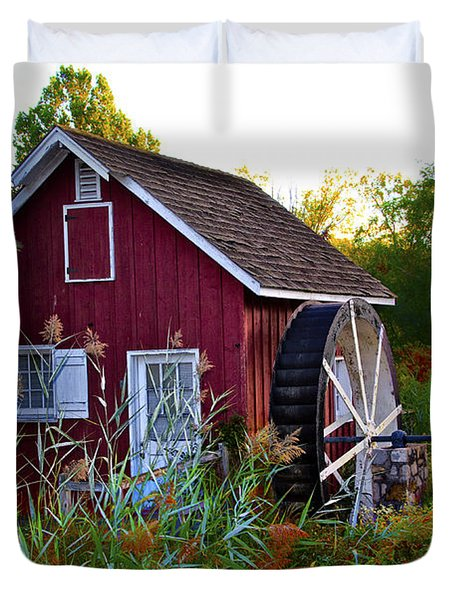 Kimberton Mill Duvet Cover by Bill Cannon