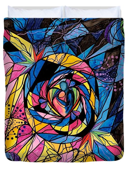 Kindred Soul Duvet Cover by Teal Eye  Print Store