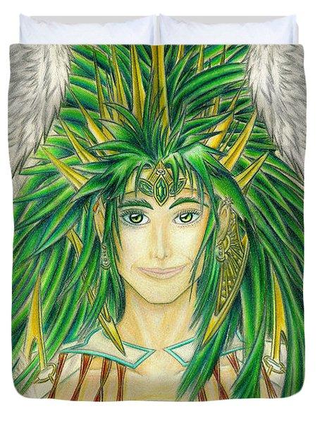 King Crai'riain Portrait Duvet Cover