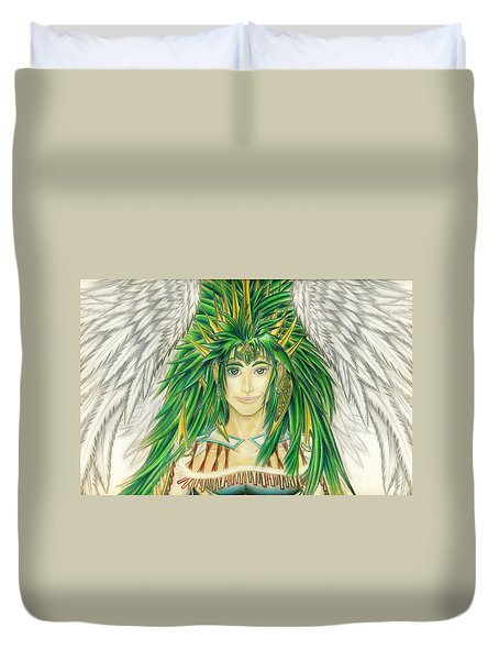 King Crai'riain Portrait Duvet Cover