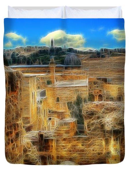 King Davids House Duvet Cover