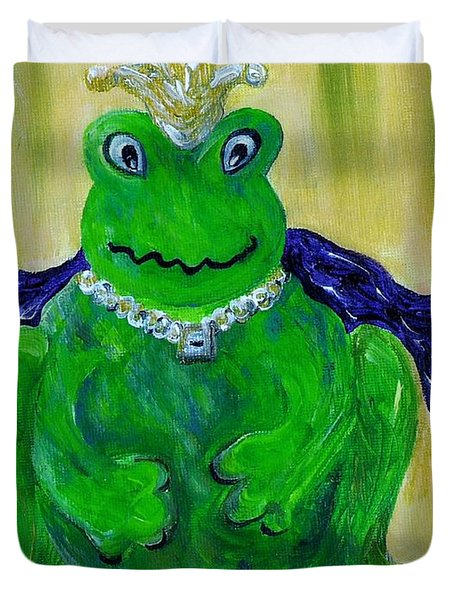 King For A Day Duvet Cover by Eloise Schneider
