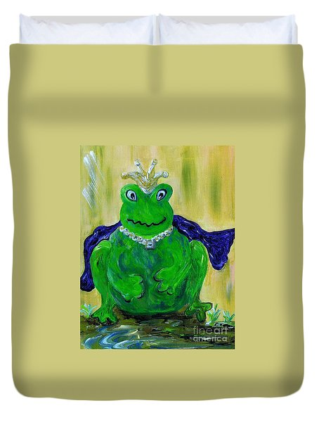 King For A Day Duvet Cover