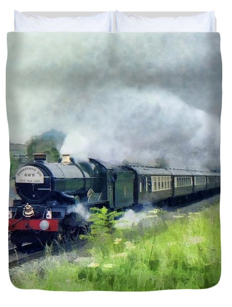 'king George V' Locomotive Duvet Cover