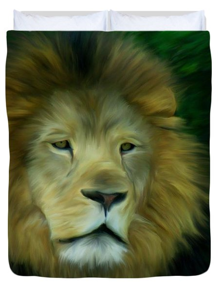 King Duvet Cover by Maria Urso