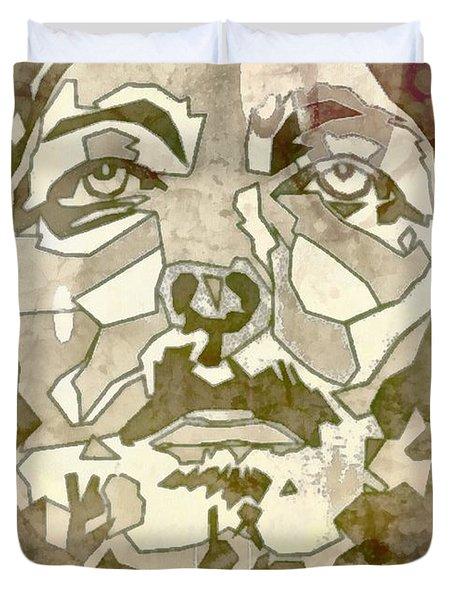 King Of Glory Duvet Cover by Michelle Greene Wheeler