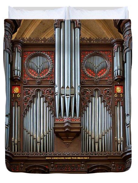 King Of Instruments Duvet Cover
