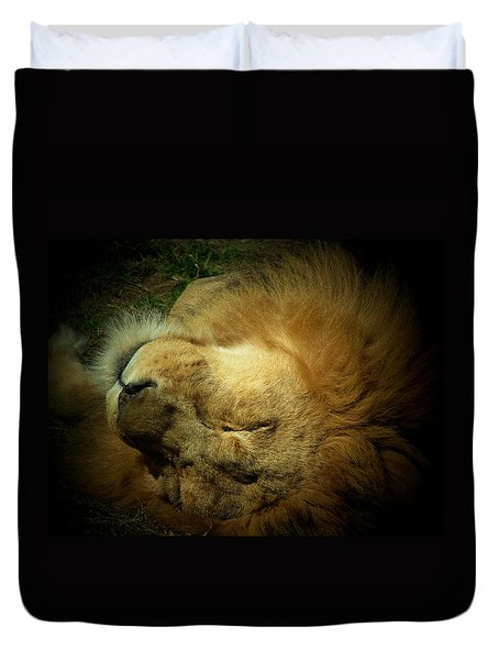 King Of Peace,lion Duvet Cover