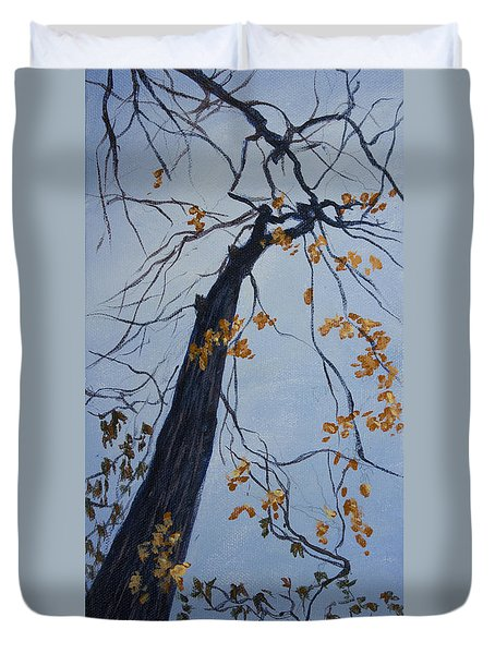 King Of The Forest Duvet Cover by Janet Felts
