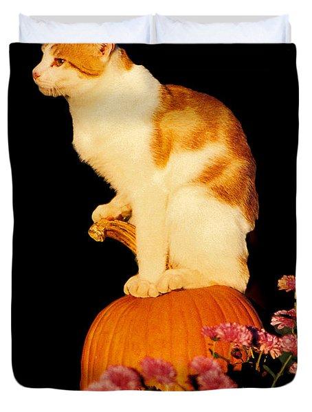 King Of The Pumpkin Duvet Cover