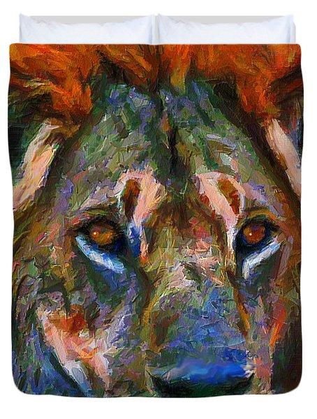 King Of The Wilderness Duvet Cover