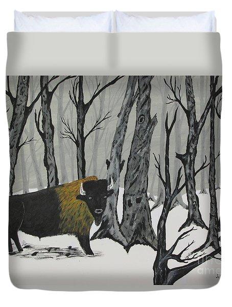 King Of The Woods Duvet Cover