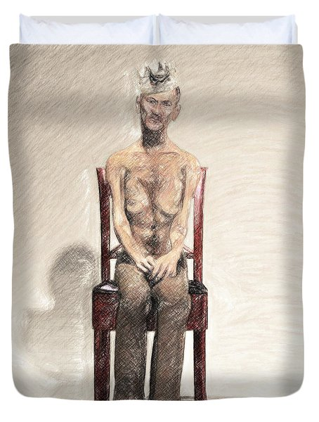 King Duvet Cover by Taylan Apukovska