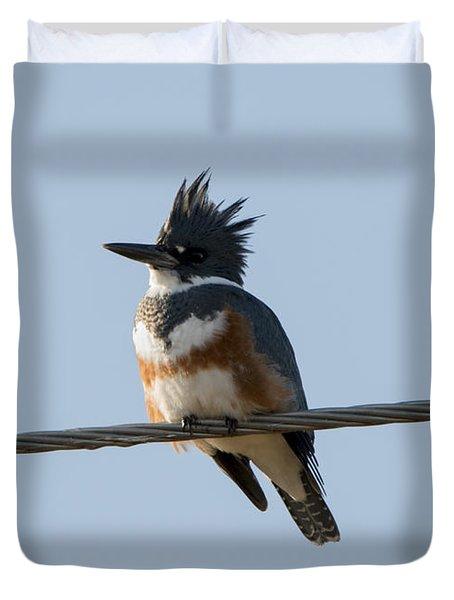 Kingfisher Profile Duvet Cover