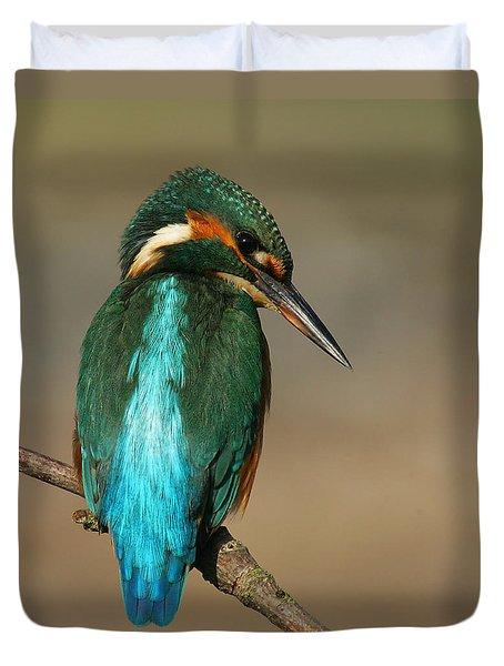 Kingfisher1 Duvet Cover