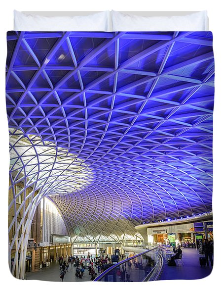 King's Cross Station Duvet Cover