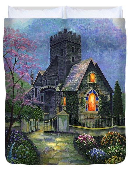 King's Garden Duvet Cover by Bonnie Cook