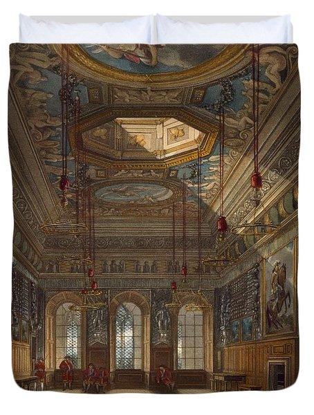 Kings Guard Chamber, Windsor Castle Duvet Cover