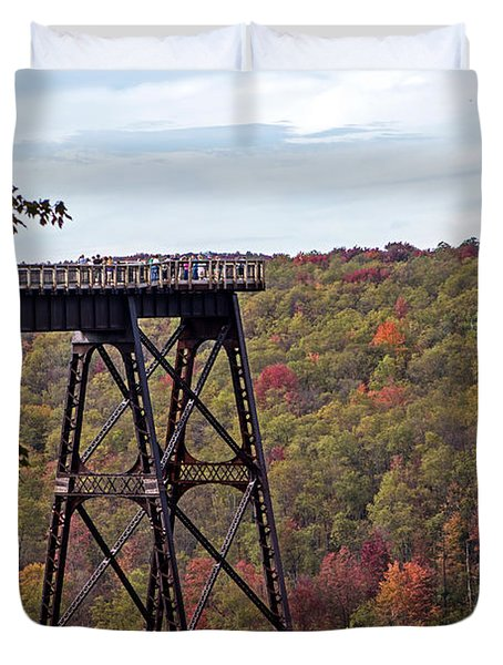 Kinzua Bridge Duvet Cover