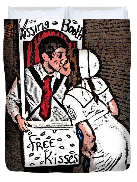 Kissing Duvet Cover