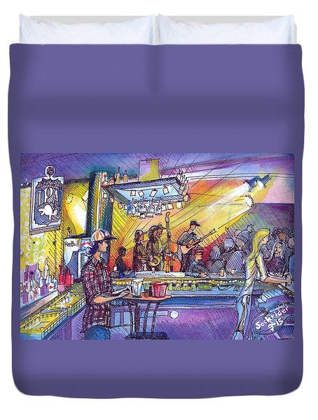 Kitchen Dwellers  Duvet Cover