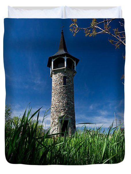 Kitchener's Pioneer Tower Duvet Cover