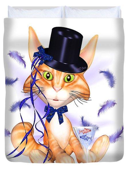 Kitticat Party Design Duvet Cover