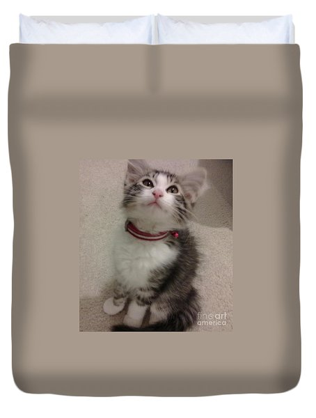 Kitty - Forgotten Innocence Duvet Cover