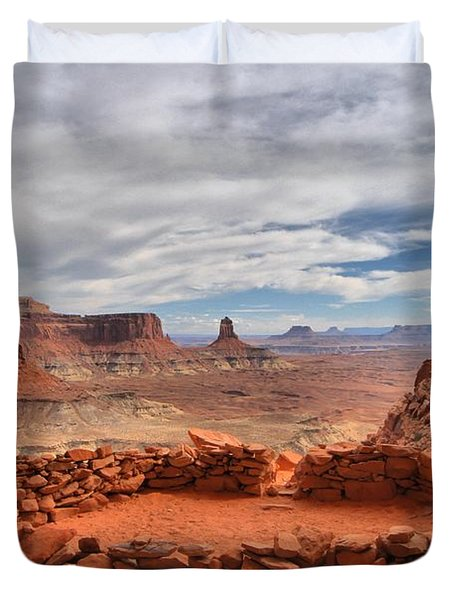 Kiva Canyon Duvet Cover by Adam Jewell