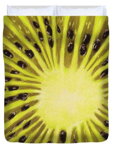 Kiwi Duvet Cover by Anastasiya Malakhova