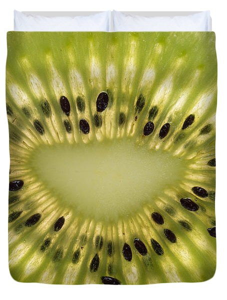 Kiwi Detail Duvet Cover