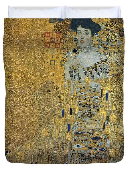 Klimt Adele Bloch-bauer Duvet Cover