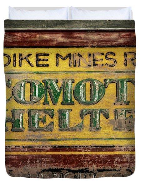 Klondike Mines Railway Duvet Cover by Priska Wettstein