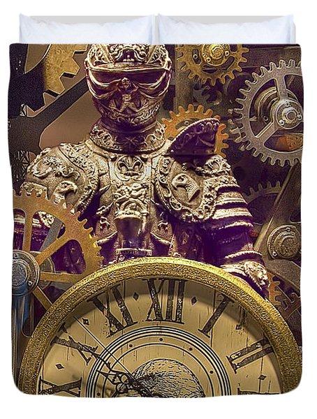 Knight Time Duvet Cover