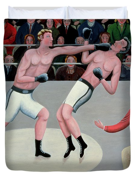 Knock Out Duvet Cover by Jerzy Marek