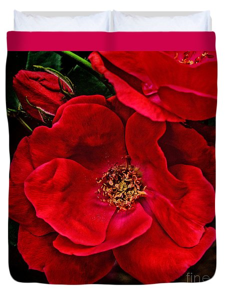 Knockout Red Duvet Cover