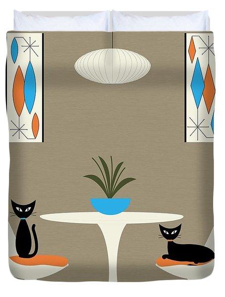Knoll Table Duvet Cover