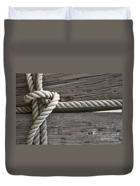 Knot Great Duvet Cover