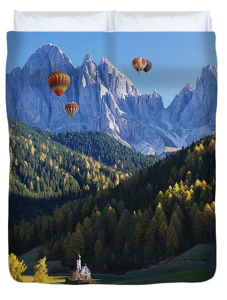 Know No Bounds Duvet Cover