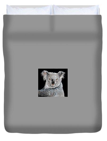 Koala Duvet Cover by Jean Cormier