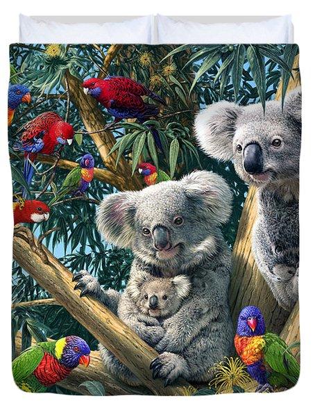 Koala Outback Duvet Cover