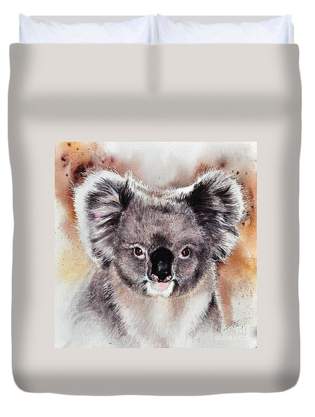 Koala  Duvet Cover by Sandra Phryce-Jones