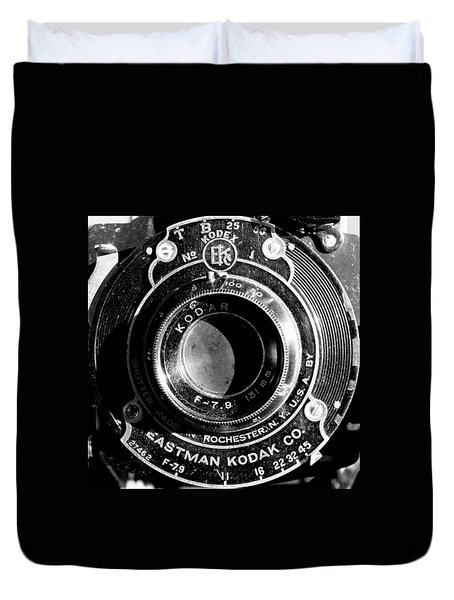 Kodak Brownie 2 Duvet Cover
