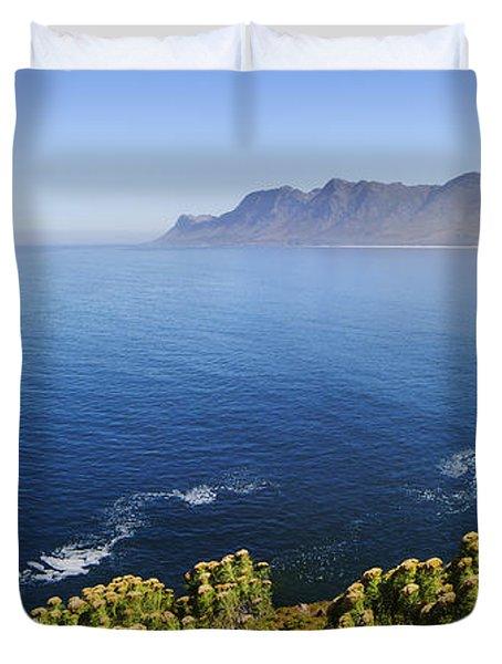 Kogelberg Area View Over Ocean Duvet Cover