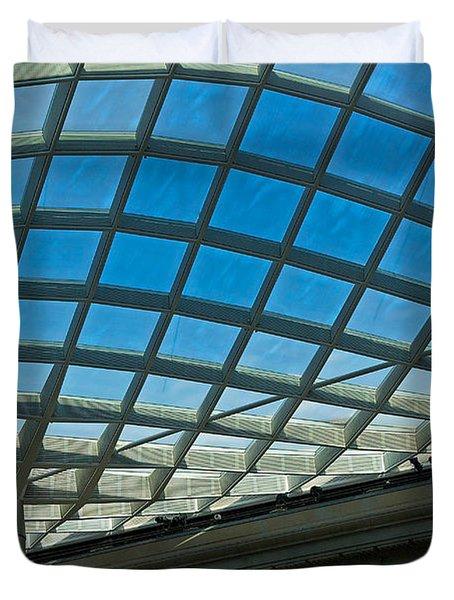 Kogod Courtyard Ceiling #3 Duvet Cover