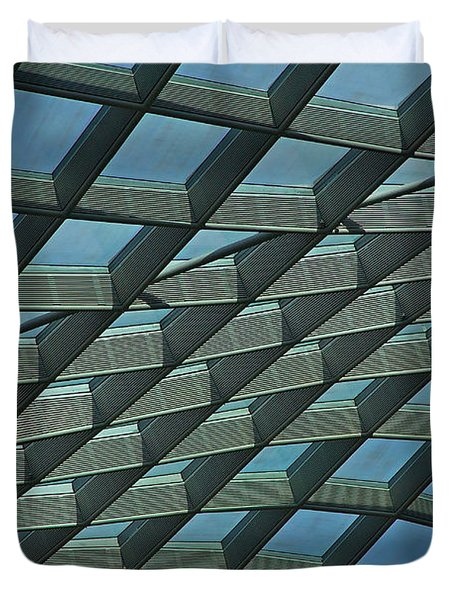 Kogod Courtyard Ceiling #6 Duvet Cover