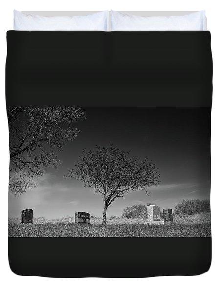 Kohanek Duvet Cover by Guy Whiteley